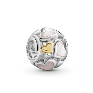 Pandora Luminous Hearts Charm